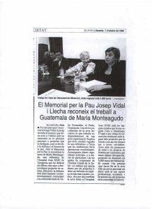 Notícia a El Punt sobre el Memorial 2006
