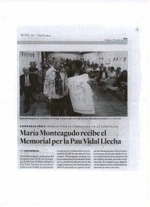 Notícia al Diari de Tarragona sobre el Memorial 2006