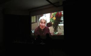 Imatge del vídeo de Liesel Vidal des de Nova York
